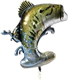 Monster Bass 36' Mylar Balloon, Gone Fishin' Party Collection by Havercamp