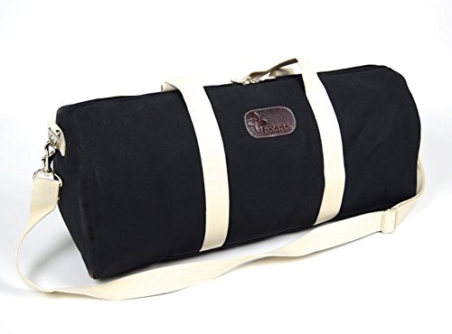 Boldric Canvas Weekender Duffle Bag - Black by Boldric