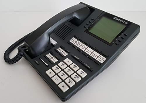 Inter-TEL 550.4500 Charcoal Executive Digital Terminal Display Speakerphone Part Number 550.4500 -