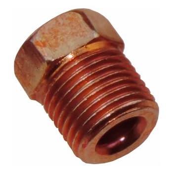 FORD 1//2-20 Inverted Flare Tube Fitting Nut 1//4 Brake Master Line Tubing TN62