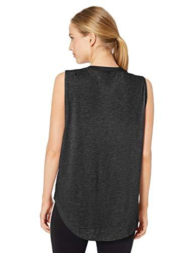 adidas Women's ID Winners Muscle Basketball Long Length Sleeveless Training Tank T-Shirt 4