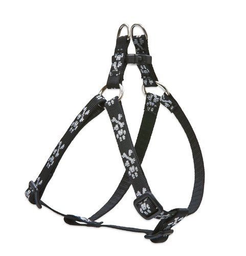"LupinePet Originals 1/2"" Bling Bonz 12-18"" Step In Harness for Small Dogs"