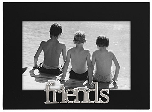 Malden International Designs Friends Expressions Picture Frame, 4x6, Black