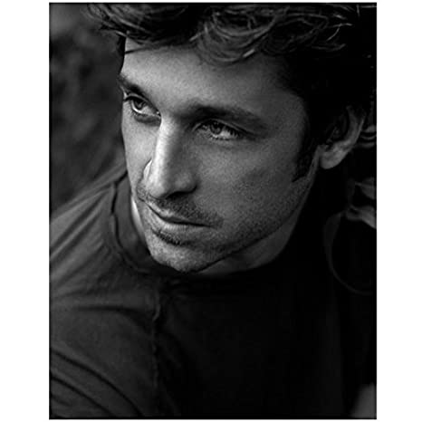 Patrick Dempsey Head Shot With Turned Face Looking On 8 X 10 Inch
