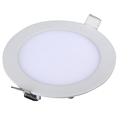 Sky Garden Recessed Light (Happy Hours - AntiFog Super Bright Round Ceiling Recessed LED Light / 24W Ultrathin Home Lighting Downlights for Parlor Kitchen Bathroom Bedroom Corridor(Cool White))