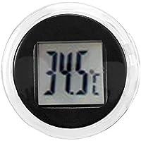 KUNSE Mini Termómetro Digital Celsius Impermeable Stick-On Moto