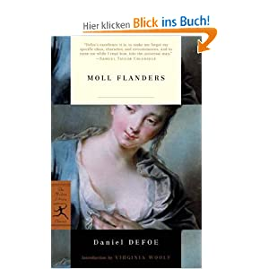 Moll Flanders (Modern Library Classics) Daniel Defoe and Virginia Woolf