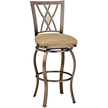 Amazon Com Hillsdale Furniture Swivel Stool 26 In
