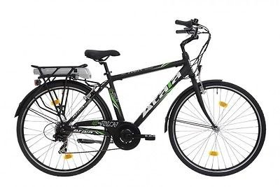 Dettagli Su Bici Bicicletta Elettrica Atala E Run Uomo 28 Pedalata