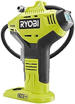 Ryobi 18-Volt One+ Lithium-Ion Cordless High Pressure Inflator