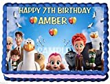 STORKS Movie CAKE TOPPER EDIBLE BIRTHDAY PARTY DECORATION