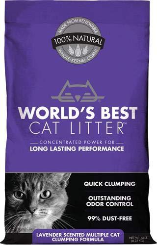 World's Best Scented Multicat Clumping Litter
