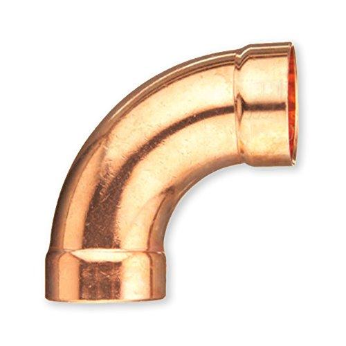 Everflow Supplies CCLT0038 90 Degree C X C Copper Long Ra...