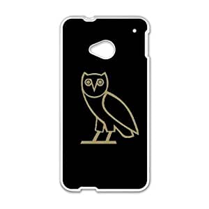 HTC One M7 Phone Case White Drake Ovo Owl IH4502083