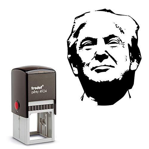 Donald Trump Rubber Stamp- Trump Square Self Inking Stamp