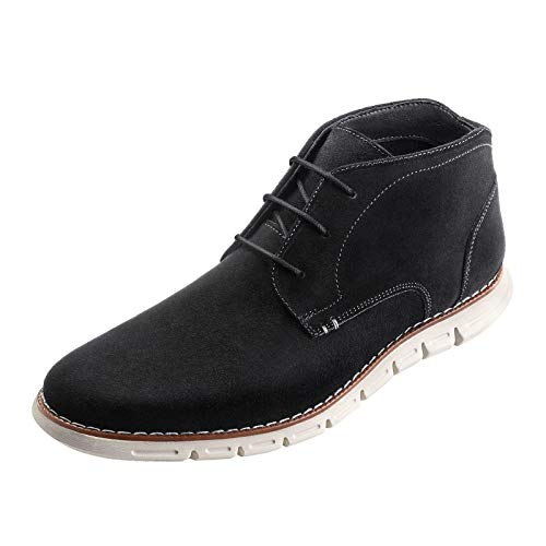 Bruno Marc Men's Suede Chukka Boots Desert Lace Up Dress Ankle Boot