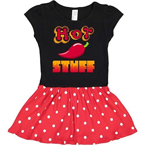 Vegetable Dress For Kids (inktastic Hot Stuff Infant Dress 24 Months Black & Red with Polka)