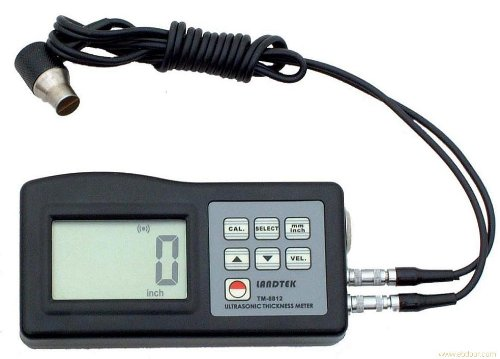 Tester Thickness Ultrasonic (TM8812 Ultrasonic Thickness Gauge 1.2-200mm,0.05-8inch)