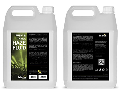Martin RUSH Haze Fluid for Haze Effects Generators, 4 x 5L (case of 4)