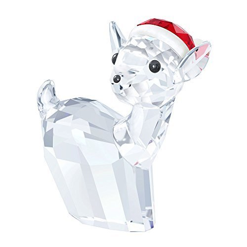 Swarovski 2015 Reindeer/Doe with Santa's Hat (Christmas Figurines Crystal)