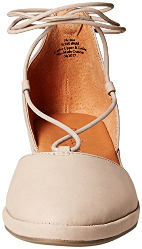 Gentle Souls Women's Nerissa Low Wedge with Laceup Pom Pump Mushroom for cheap online discount prices buy cheap get to buy cheap sale free shipping zDf3xi
