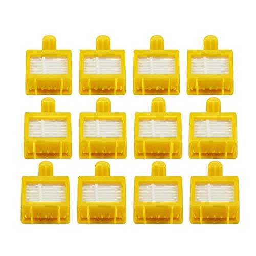 Sothat Conjunto de Reemplazo de ccesorios de la spiradora con Filtro Hepa para 700 Series 760 770 780 - Incluye 12 Filtros - Totalmente Compatible