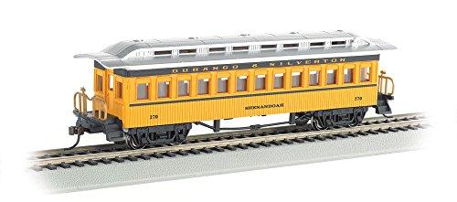 1860 Coach - Bachmann 1860-1880 Passenger Car-Coach-Durango & Silverton #257