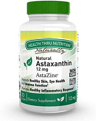 Natural Astaxanthin AstaZine Soy Free Softgels