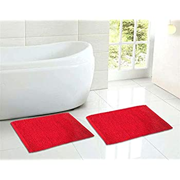 Amazon Com Astrea Textiles Bath Rug Bathroom Floor Mats