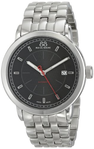 88-Rue-du-Rhone-Mens-87WA120042-Analog-Display-Swiss-Automatic-Silver-Watch