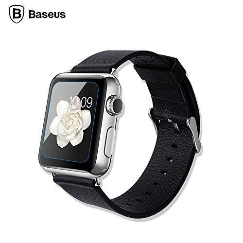 Baseus 0.15mm 9H HD Curved Edge Tempered Glass 2.5D Screen Protector For Apple Watch 38/42mm Apple Watch 38mm
