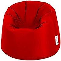 Penguin Beanbag Chair, Red