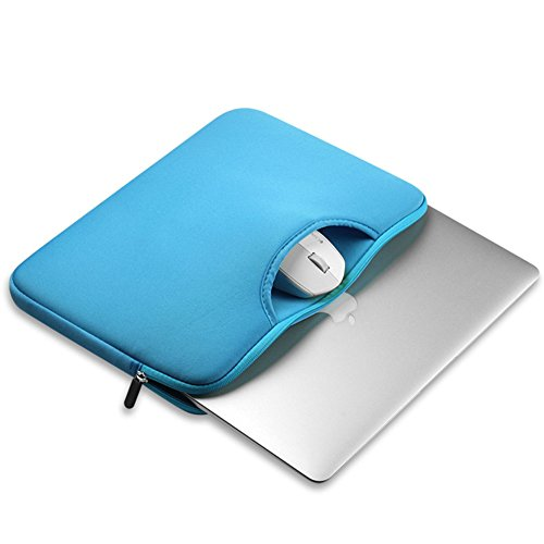 Funda para Portátiles / Maletín con Asa Para Ordenador Portátil Notebook / Ultrabook Tablet de Maleta Bolsa de Transporte Lago Azul