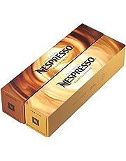Nespresso VertuoLine Barista Creations Variety for Recipes with Milk: Bianco Forte (7.77 ounce), Bianco Leggero (2.7 ounce), 20 Capsules