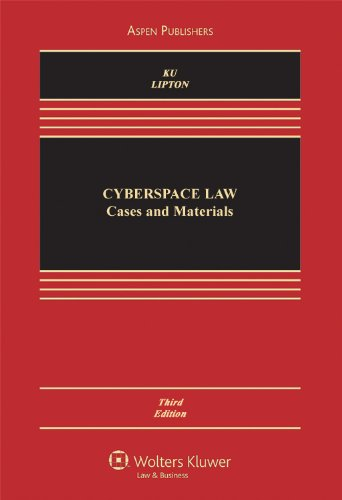 Cyberspace Law: Cases & Materials 3e
