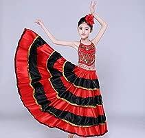 Estilo Gitano Princesa Niñas Trajes de Danza del Vientre ...
