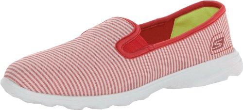 Rosso Sneaker Go rdw nbsp;preppy Donna Skechers Sleek Basse awtSTTYx