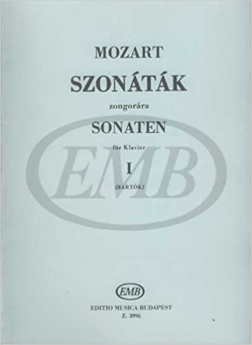 EMB (Editio Musica Budapest) MOZART W.A. - SONATE VOL. 1 - PIANO Partition classique Piano - instrument à clavier Piano: 9790080039960: Amazon.com: Books