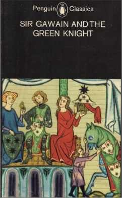 """the justification of sir gawain in sir gawain and the green knight In """"sir gawain and the green knight"""", the knight who we later find out is bertilak, takes a liking to the color green he could have chosen red for."""