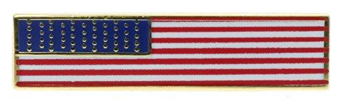 Sujak Military Items US Flag Thin Slim Hat Lapel 1 1/8 inch Pin HON14260
