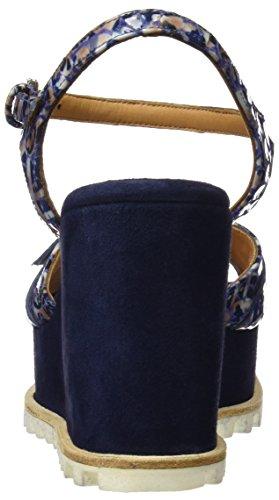 Con 19595 Blu Plateau Audley Donna blue Azul Sandali qdOXnxWwaE