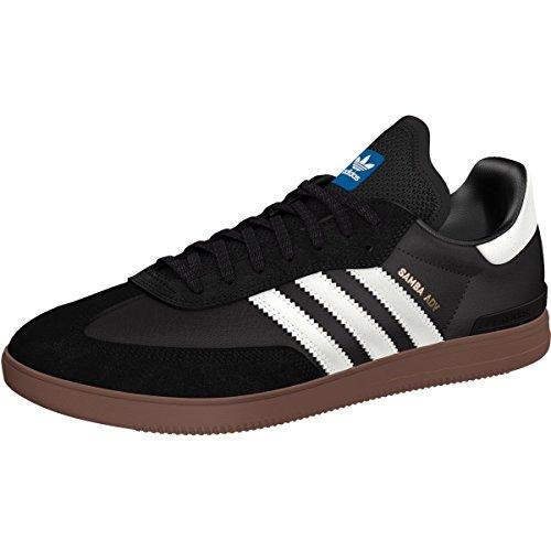 adidas Skateboarding Men's Samba ADV Black/White/Gum Athletic Shoe (Adidas Samba Shoes)