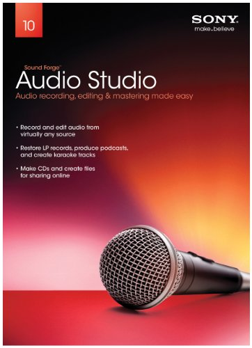 (Sony Creative Software Sound Forge Audio Studio 10 - 2011 [Old Version])