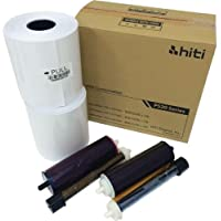 HiTi 4x6 Media for Photo Printer P520 & P520L, 500 Sheets to a Roll, 2 Rolls in a Box, 152x102mm