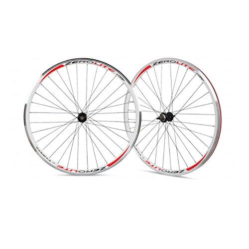 Vuelta ZeroLite Track Comp 700C Wheel Set (White)
