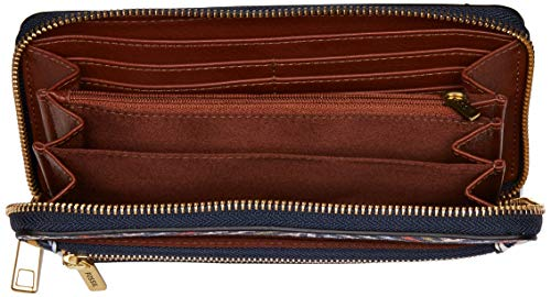 Fossil Logan RFID Zip Around Clutch Multi by Fossil (Image #5)