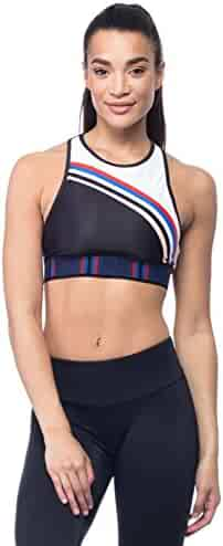 ee2abfe955 P.E NATION Women s Active Workout K.O. Sublimation Crop Bra Yoga Top - XS