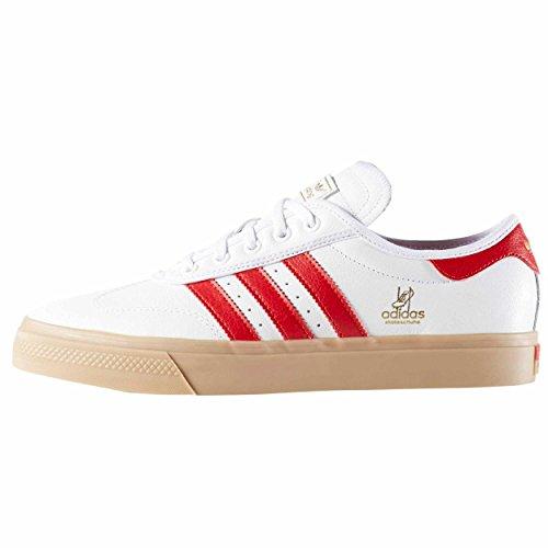 Adidas Original Zapatillas ADI EASE UNIVERS Blanca/Rojo 36 2/3 EU