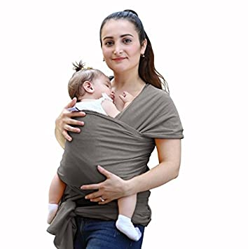 Echarpe de transport Todmy respirant Coton doux Tablier d allaitement bébé  Sling Carrier bébé pratique 75d2d9aee57