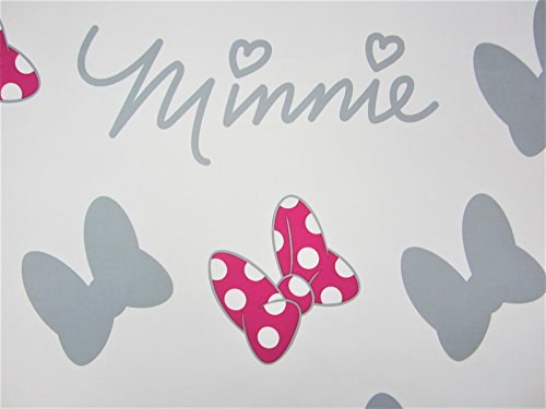 Minnie Mouse Many Lovely Bows 100% Polyester (Flat Sheet ONLY) Size Twin Girls Kids Bedding